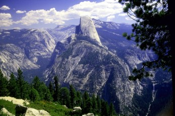 Half Dome - Yosemite National Park, California.