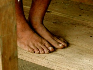 Amazon River Village - Shaman's Feet