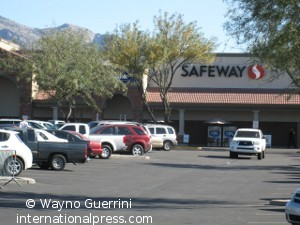 Tucson Shooting site - 1 year after