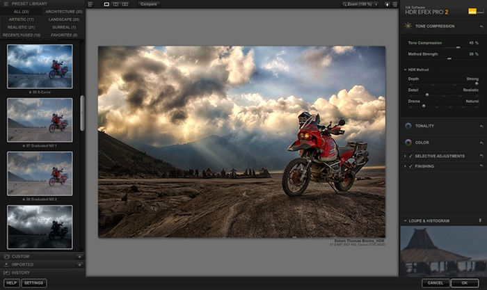 Software foto editing hdr efex pro 15