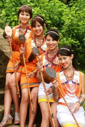 Tetseo Sisters, Nagaland, North-East India