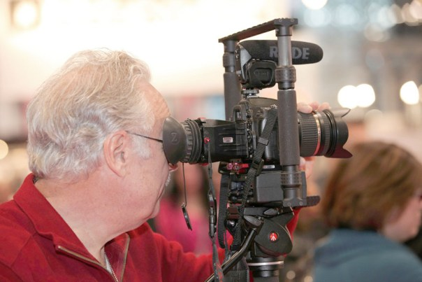 My Gear with the Zacuto at the International Beauty Show in New YorkClick here to see the video and articles I shot with the Zacuto