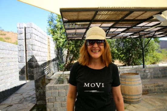MOVI member Angela Mochi, Winemaker, Co-Owner Attilio & Mochi