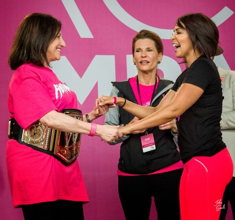 Dr. Judy Salerno (CEO Susan G. Komen) • Nancy Brinker (Founder Susan G. Komen) • Layla El