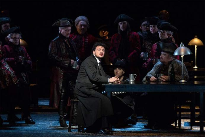 Vittorio Grigolo in the MET Opera 2017-18 Production of 'Les Contes d'Hoffmann'