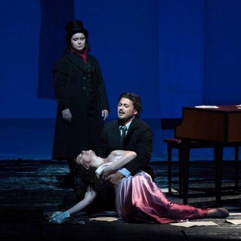 "Hartig, Grigolo and Erraught in the MET Opera Production, 'Les Contes d'Hoffman"" - 2017-18 Season"
