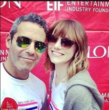 Emma Stone & Andy Cohen