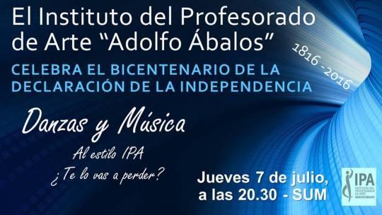 Celebración Bicentenario de la Independencia