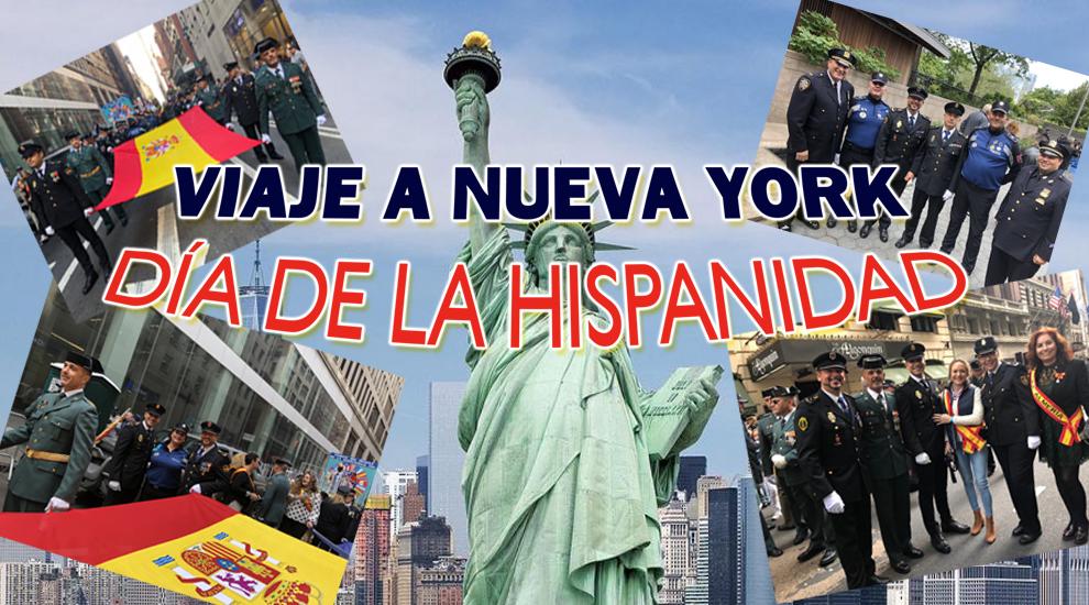 HISPANIDAD - VIAJE A NUEVA YORK 2019 (DÍA DE LA HISPANIDAD)
