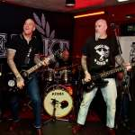 New York band The Take show they're in good shape as they warm up for Agnostic Front support slot