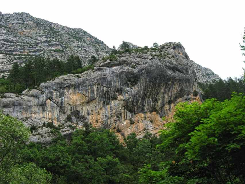 Majestic rocks in Goerges du Verdon