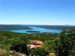 Lake of Sainte-Croix, Aiguines, Fance, Provence, Gorges du Verdon,