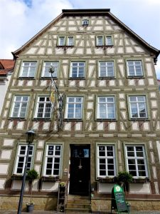 half-timbered house, Bretten, Germany, Fachwerk, Schweizer Hof, German Guardian Angel Museum, Deutsches Schutzengel-Museum