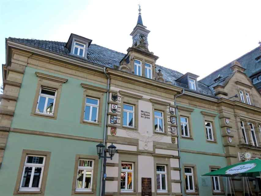 The Old Town Hall of Bretten, Germany