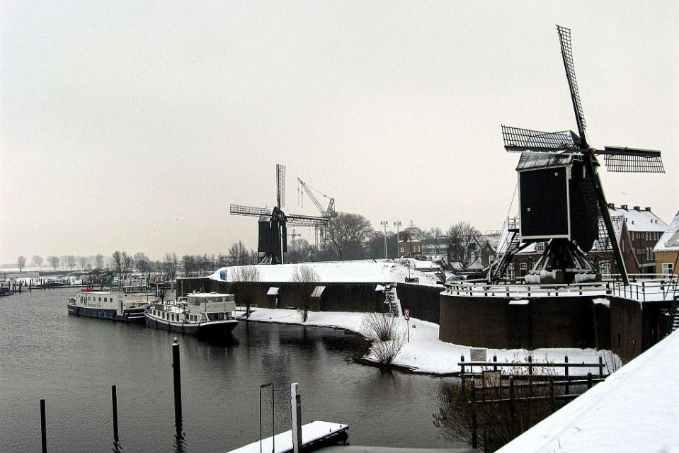Heusden in winter