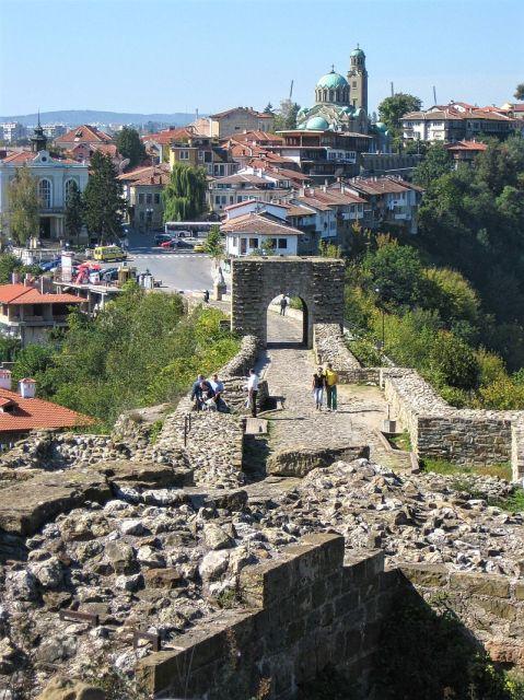View from Tsarevets - Bulgaria
