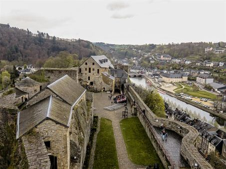 The Bouillon Castle in Belgium - Wallonia