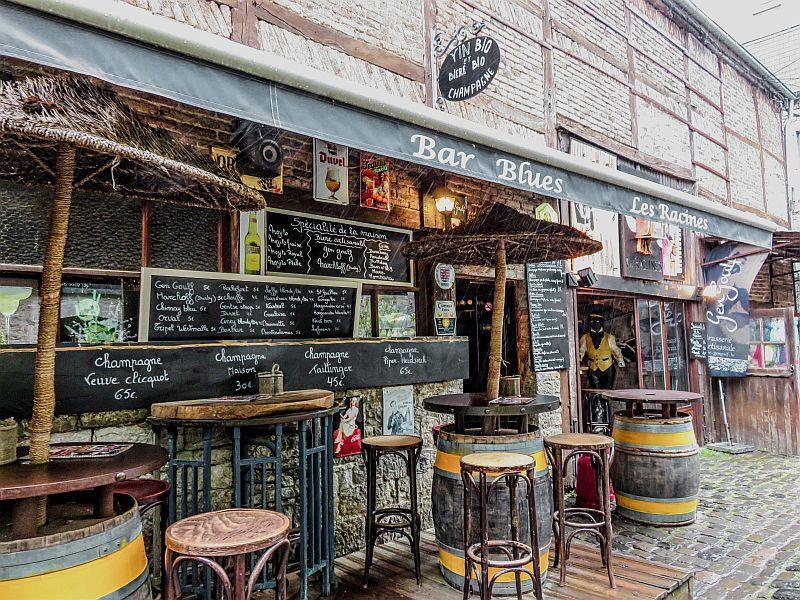 A pub in Durbuy, Belgium - Wallonia