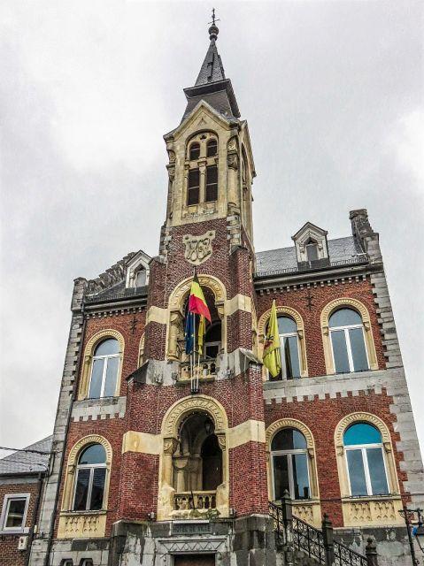 The town hall in Rochefort, Belgium - Wallonia