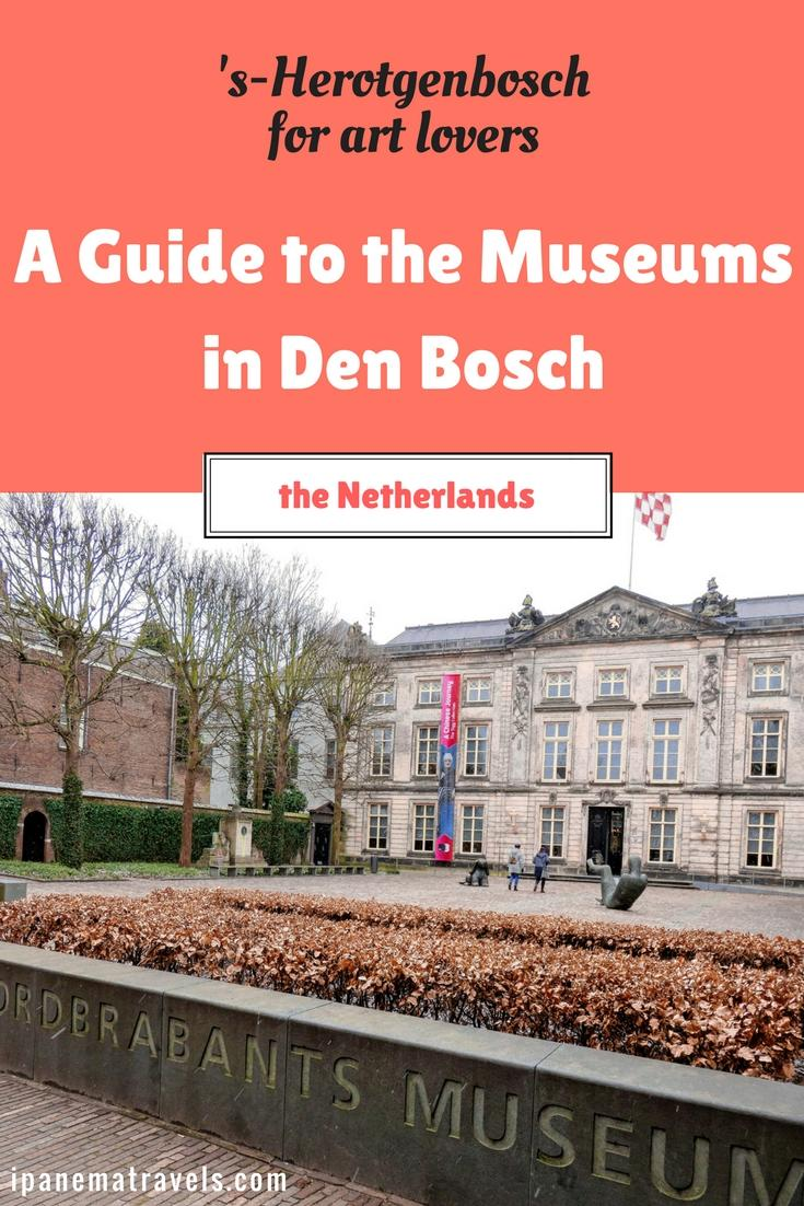 Discover the two famous museums in Den Bosch ('s-Hertogenbosch), the Netherlands: Noordbrabants Museum and Stedelijk Museum. Explore the museums' collections that include paintings from Hieronymus Bosch, Van Gogh, Bruegel and many more. Modern art exhibitions currently on display. #museums #visitbrabant #holland #artmuseums