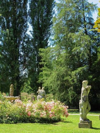 Villa Widmann - park