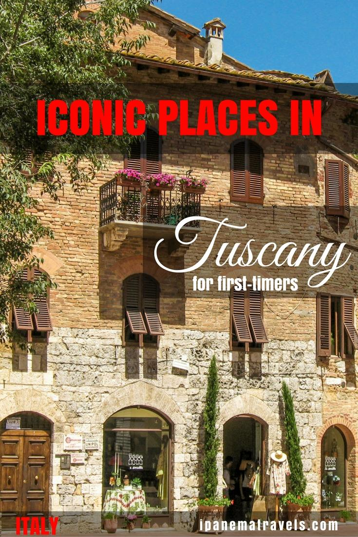 Which are the best places to visit in Tuscany (Italy) during your summer holidays? Find out here which places to include on your Tuscan itinerary if you are visiting for the first time. Includes information about San Gimignano, Voterra, Florence and Siena and suggestions for accommodation in San Gimignano. #Tuscany #Italy #Tuscanytravel #Italytravel #Europe #Europetravel #SanGimignano #Volterra #Siena #Florence #summerholidays #travelideas #travelinspiration #tuscanyholidays
