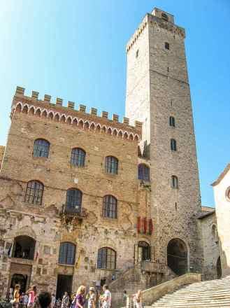 Torre Grossa and Palazzo Pubblico - San Gimignano
