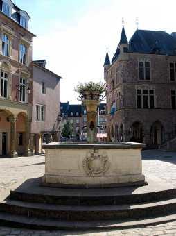 Place du Marché in Echternach