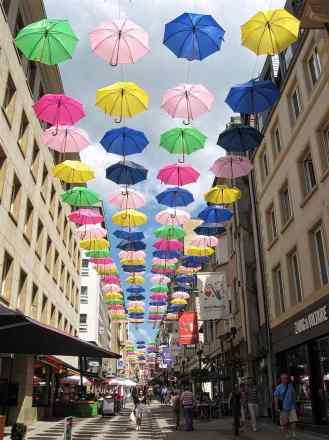 Rue Phillipe II in Luxembourg City