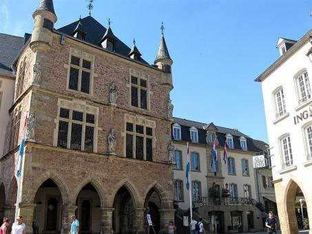 The Palace of Justice in Echternach