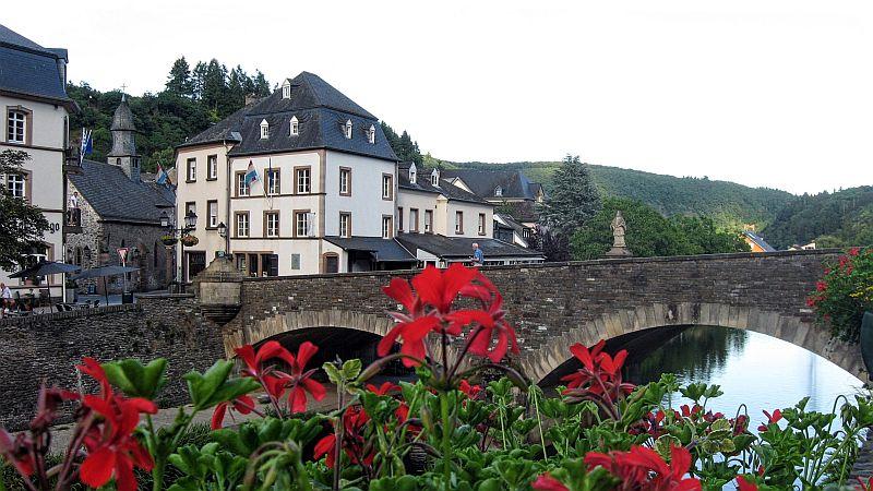The bridge over the River Our in Vianden
