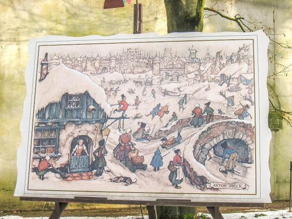 The unique world of Anton Pieck