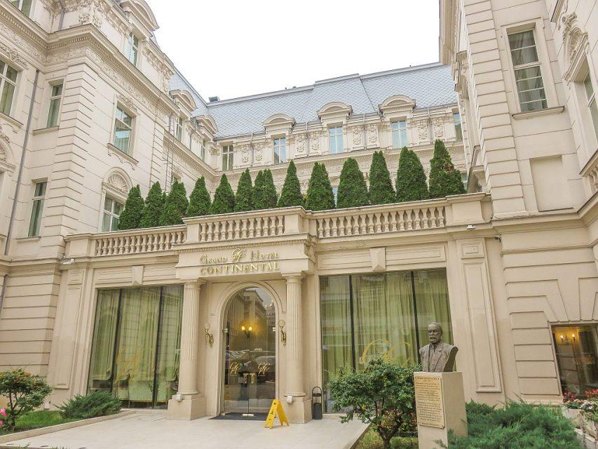 Grand Hotel Continental in Bucharest