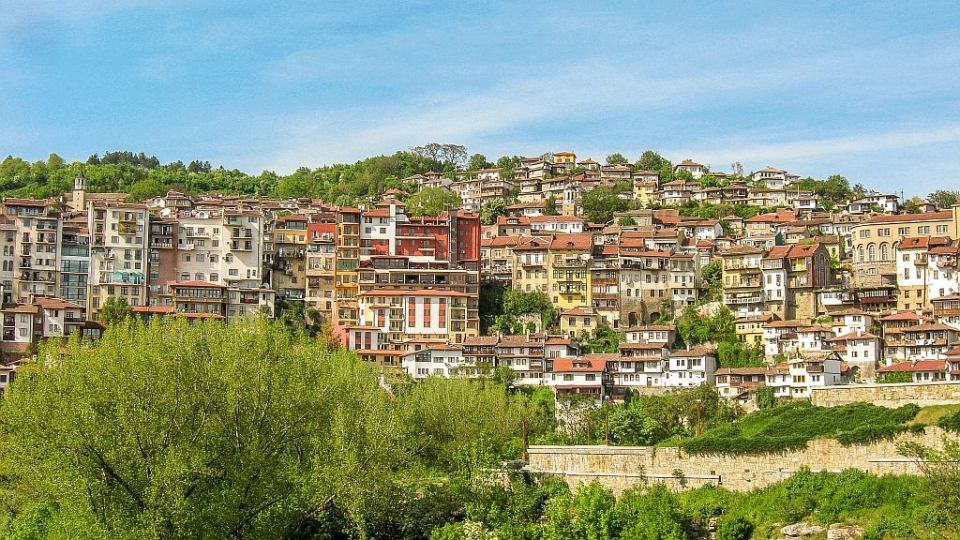 Veliko Tarnovo - postcard view