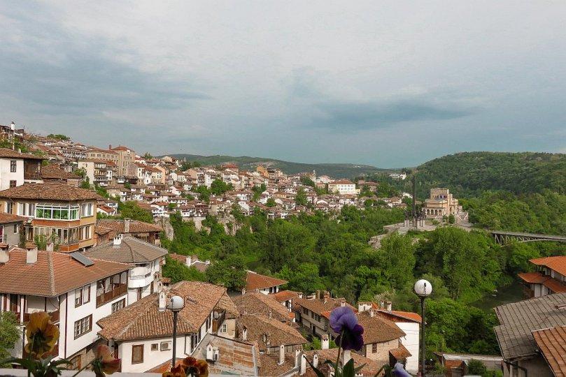 Veliko Tarnovo - view on the Horsemen