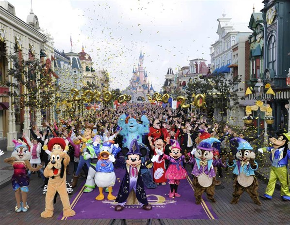 Il parco divertimenti Euro Disneyland Paris