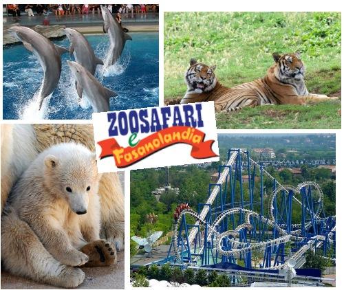 Il parco divertimento ZooSafari Fasanolandia in Puglia