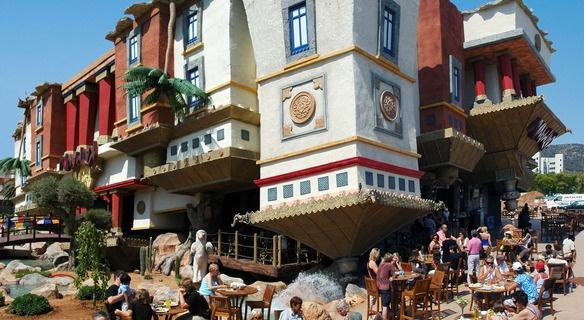 Parchi di divertimento nell'isola di Maiorca (Baleari)