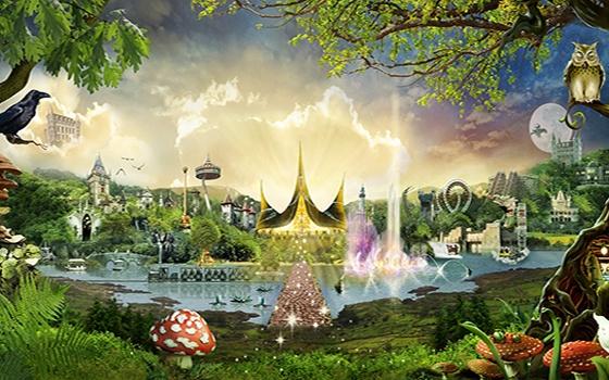 Efteling uno dei principali parchi divertimento in Olanda ad un'ora da Amsterdam