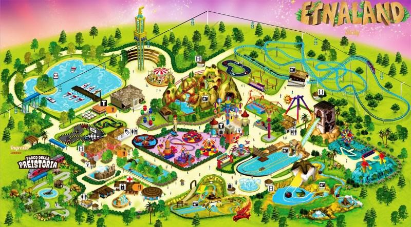 Etnaland parco a tema e parco acquatico in Sicilia, uno dei parchi piu belli d'Italia