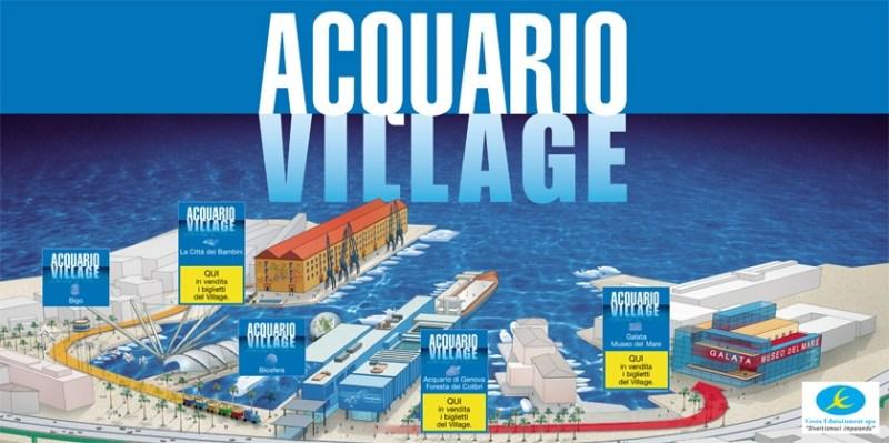 L'Acquario di Genova uno dei simboli della citta e l'acquario piu grande d'Italia