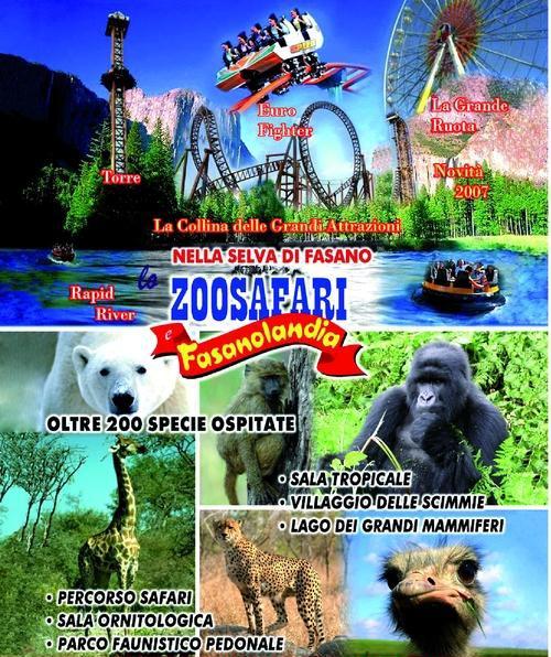 Lo Zoosafari in Puglia è uno dei princali zoo e parchi faunistici d'Italia