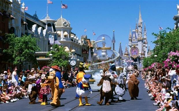 Disney World's Magic Kingdom il parco piu famoso e visitato della Terra