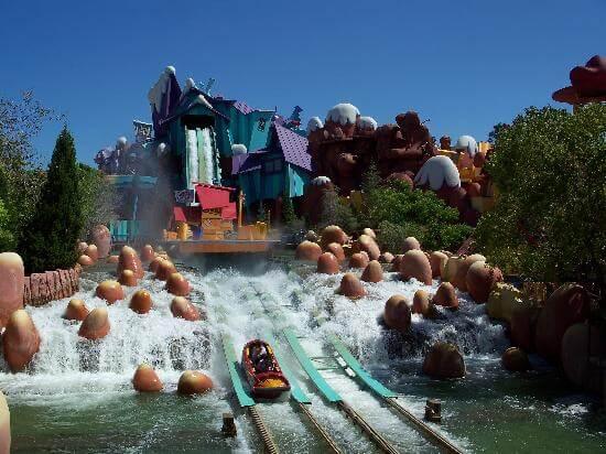 Una delle tante attrazioni presenti ad Universal's Islands of Adventure