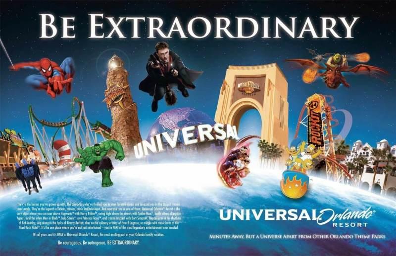Universal Studios Florida uno dei migliori parchi a tema del Mondo