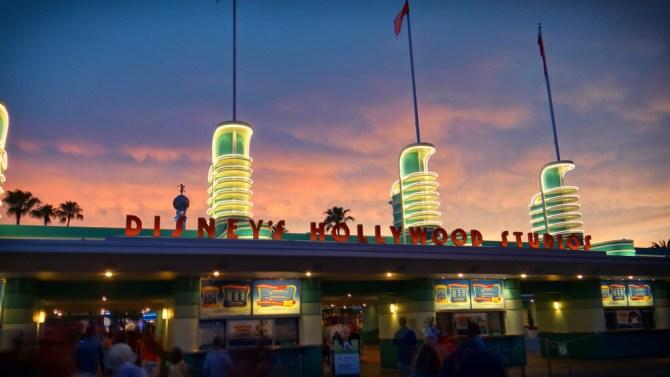 L'entrata del parco Disney's Hollywood Studios di Orlando in Florida