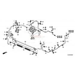 Manguera hidráulica de alta presión|Honda|Pilot