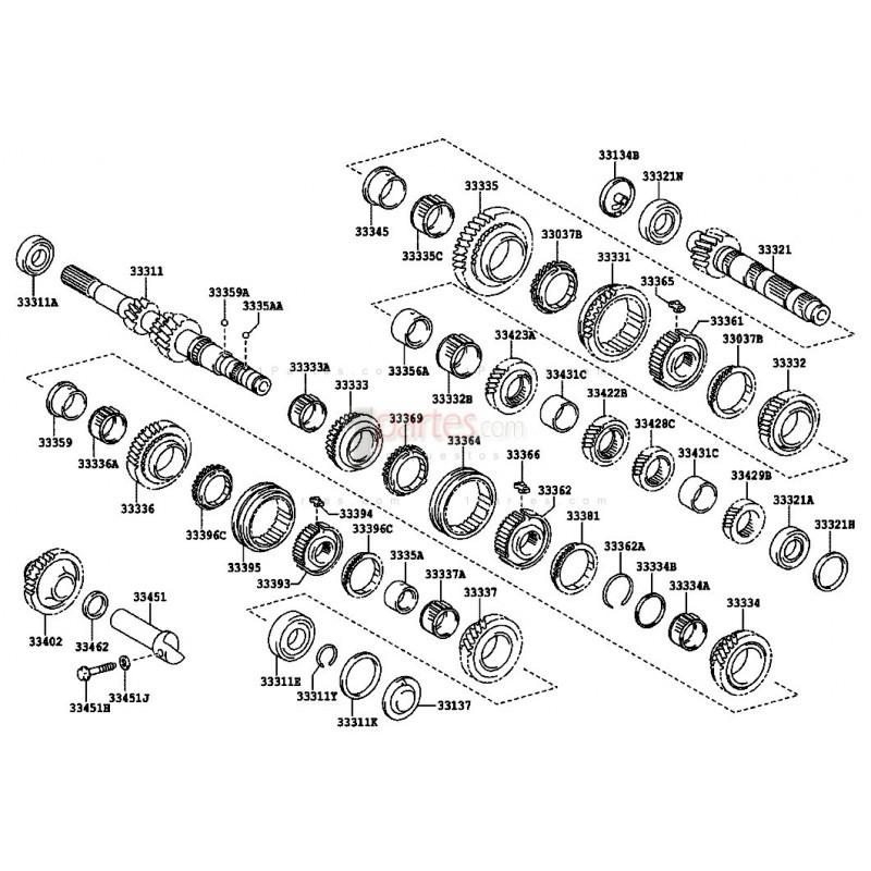 Espaciador|Toyota|Corolla|9056454114|9056454113|9056454104