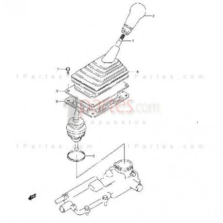 Palanca de cambios Chevrolet Tracker Suzuki Sidekick X-90