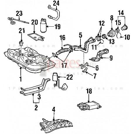 Filtro de gasolina|Toyota|Corolla|Chevrolet|Grand Vitara